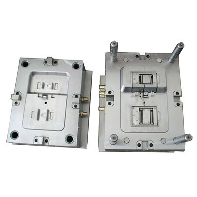 H13 Steel Mould Cavity / Core Plastic Injection Mold Tooling 50K-2000K Shots Mould Life